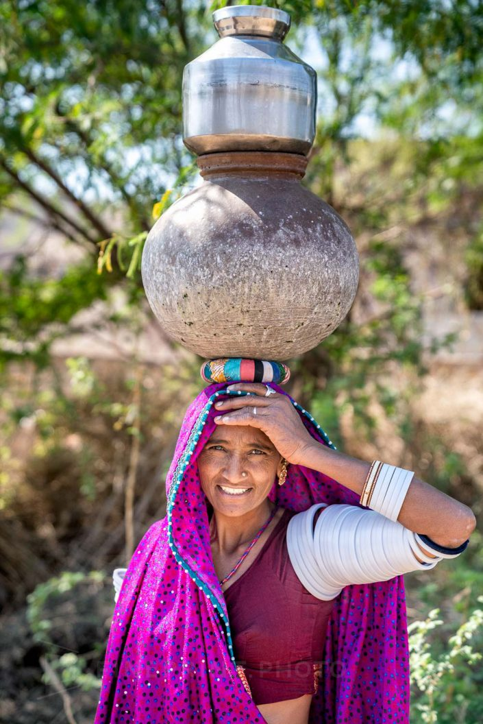 Water is key of life in arid / ID: india19-73180